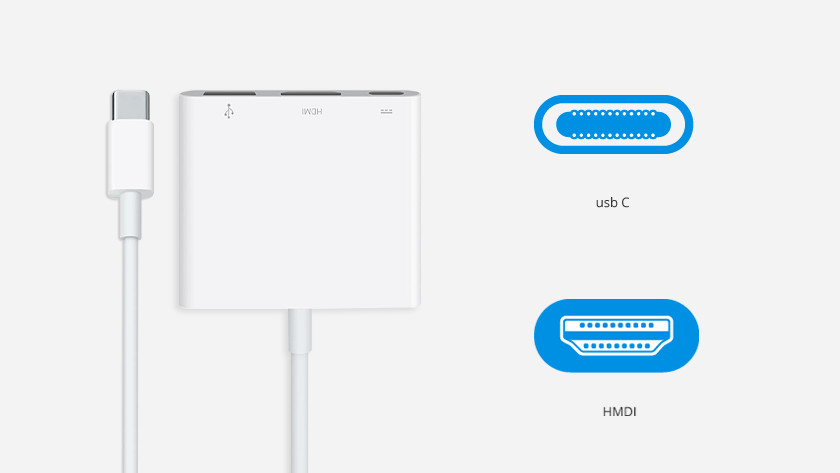 Apple usb C naar hdmi converter