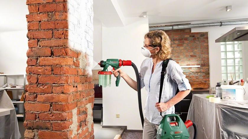 Paint sprayer paint yield