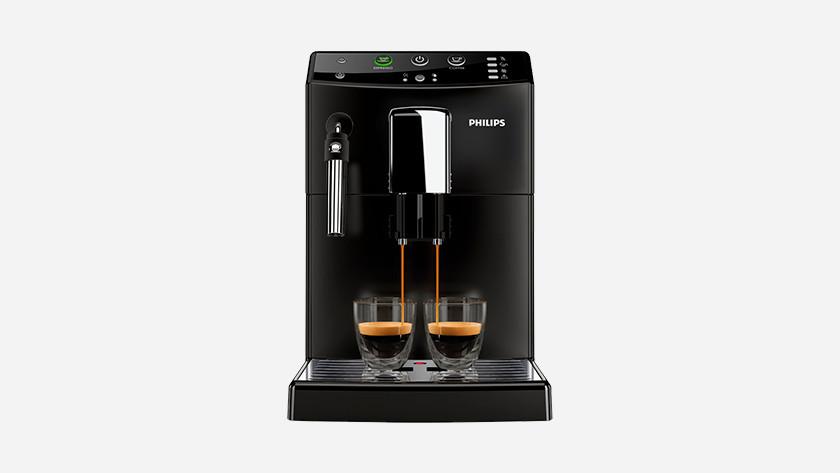 Tester des machines à café entièrement automatiques en magasin