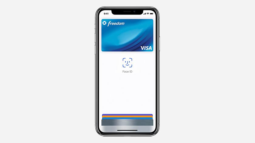Betalen met Face ID