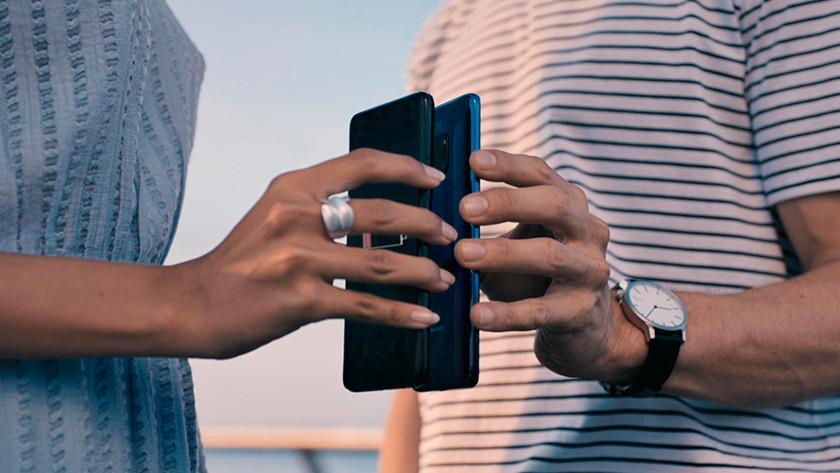 Huawei Mate 20 Pro draadloos opladen