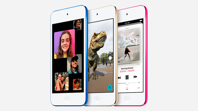 Coloris iPod Touch 2019