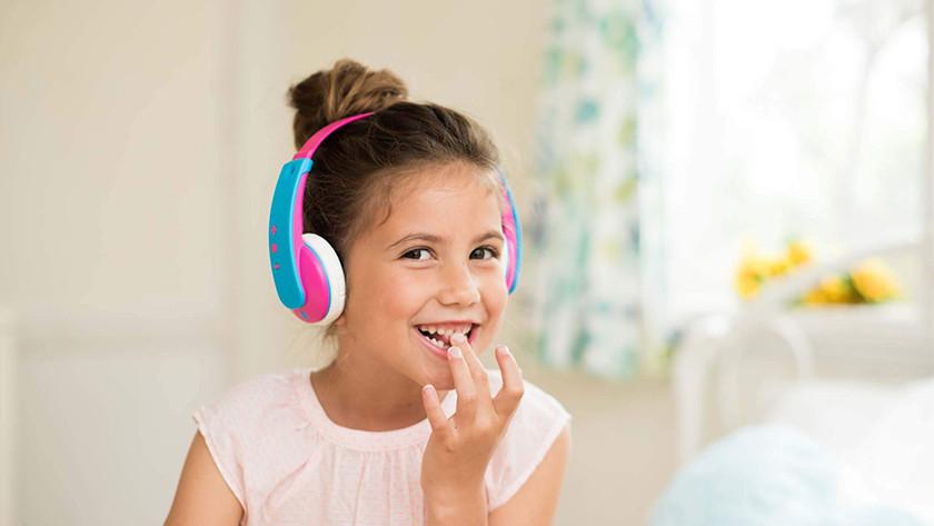 Kinderkoptelefoon tablet