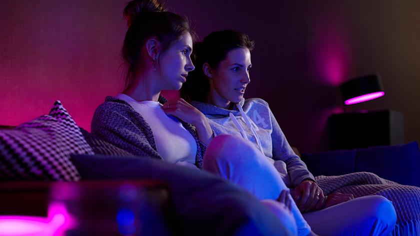 Film kijken met Hue Sync