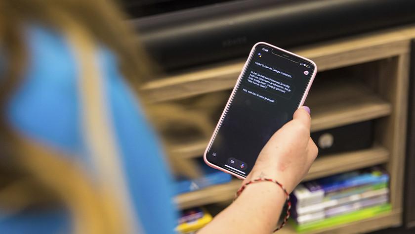 Sonos Arc gebruikt Google Assistant