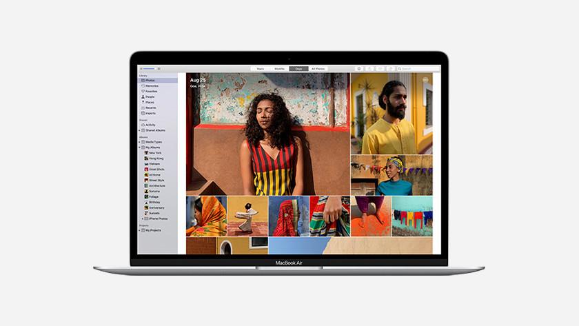 Apple MacBook Air (2020) opslag