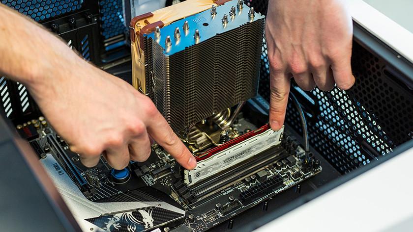 Install new RAM