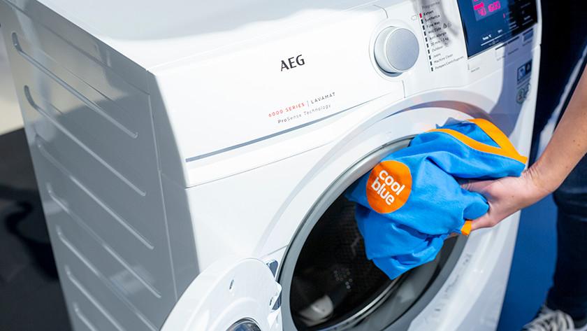 Was inladen in wasmachine