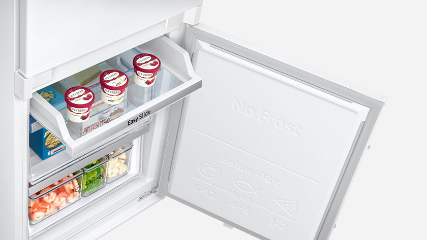 Slider door fridge