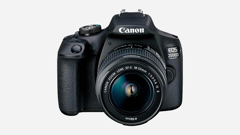 Fysieke kenmerken Canon EOS 2000D
