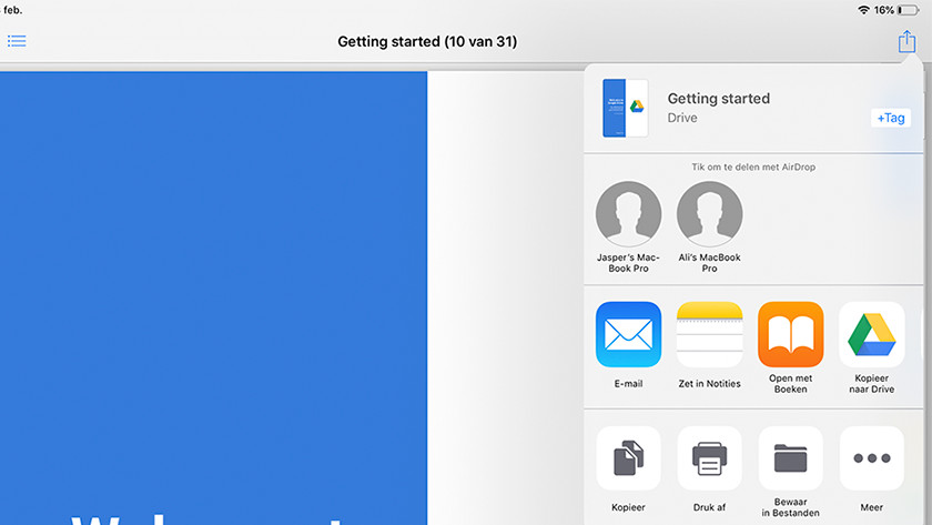 Move files from the cloud of other apps