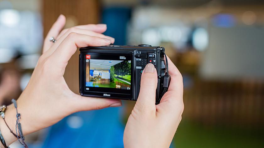 Filmen met fotocamera