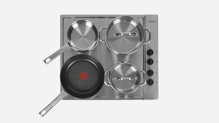 Kookplaat basisklasse bereidingskwaliteit