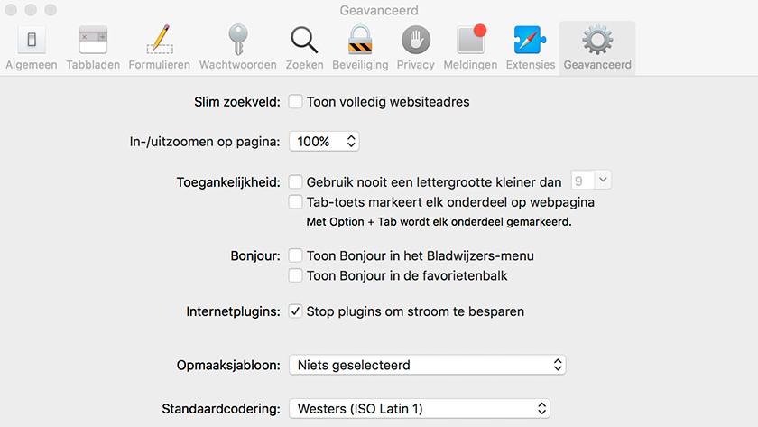 Désactiver le plugin Flash Apple MacBook