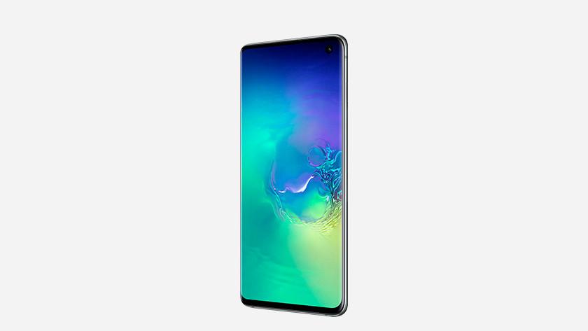 Samsung Galaxy S10 opslag