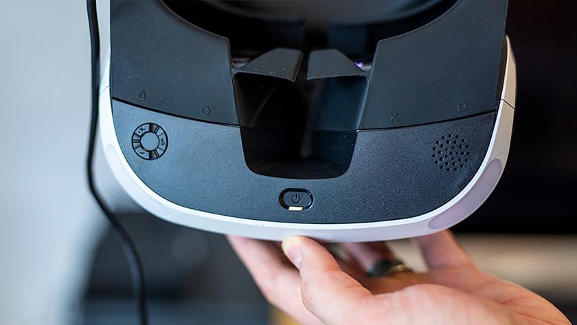 PS VR gebruiken