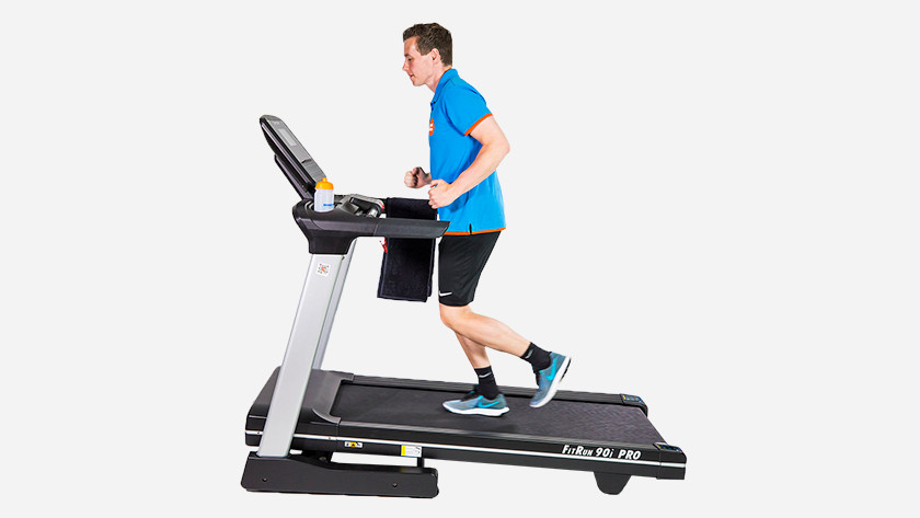 Interval training on treadmill
