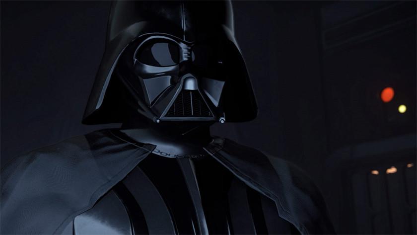 Dart Vader Star Wars Immortal VR lightsaber