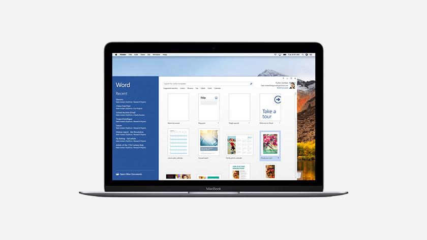 Excel sur MacBook
