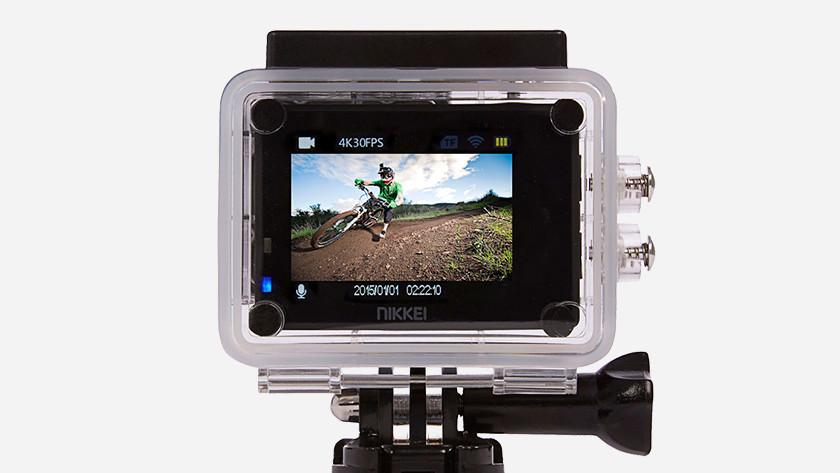 Action cam beeldkwaliteit