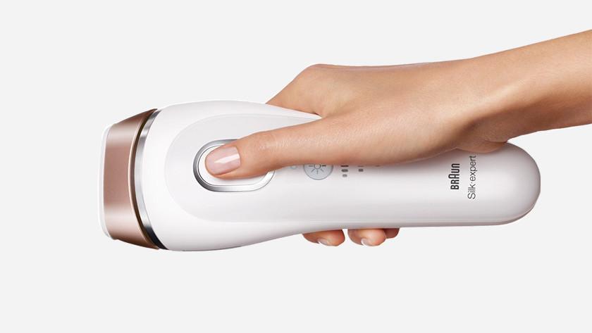 Braun Silk Expert lichtontharingsapparaat