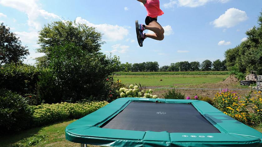 Plaisir de sauter
