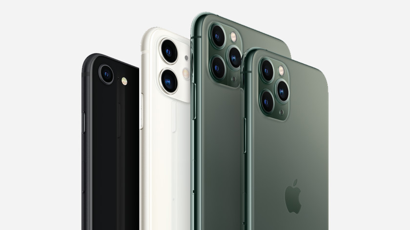 Formaat iPhone 11 en 11 Pro (Max)