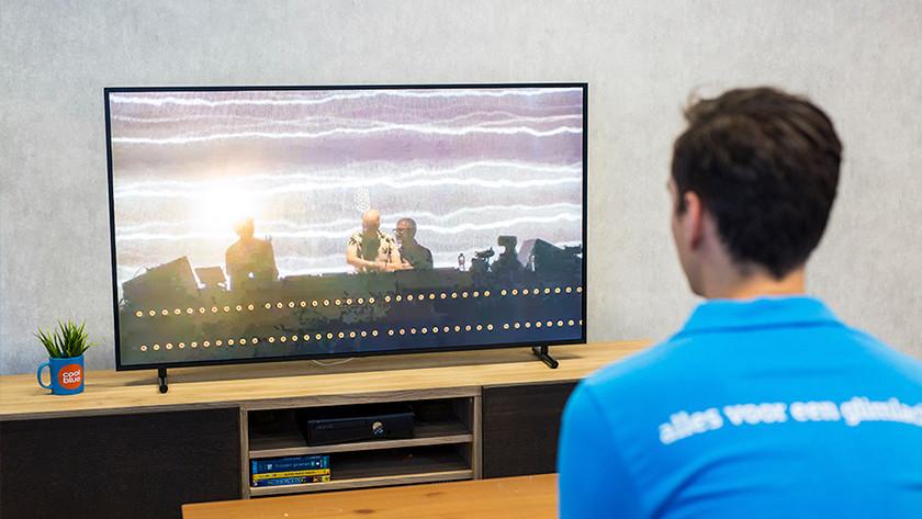 Samsung tv stembediening