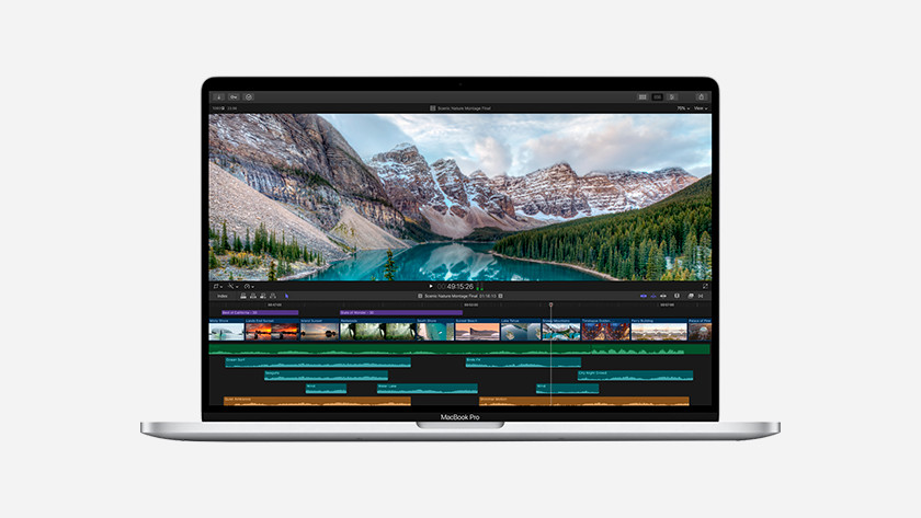 Apple MacBook Pro 16 inch videokaart