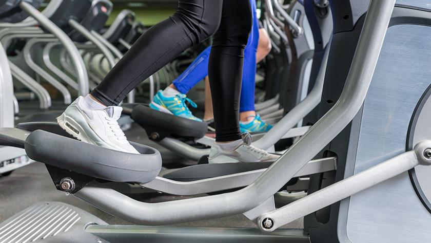 calorieën verbranden op crosstrainer