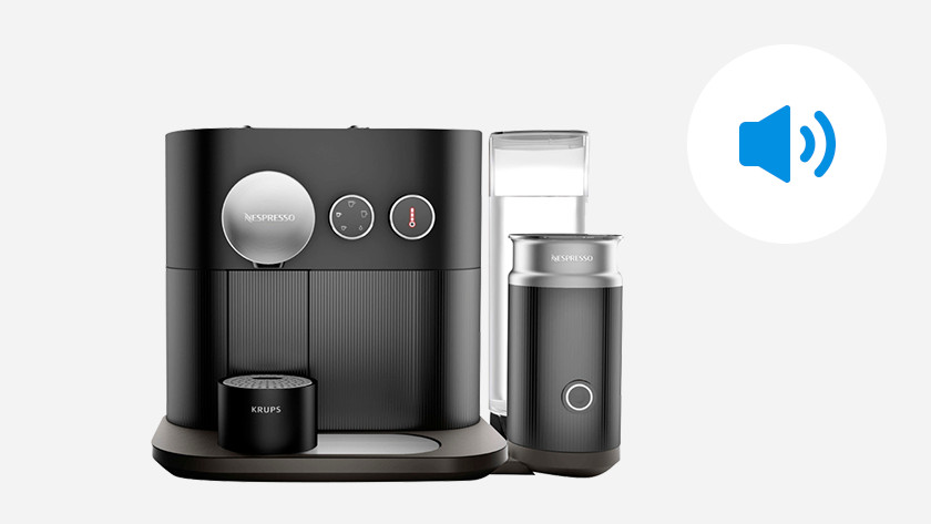 Stille nespresso machines