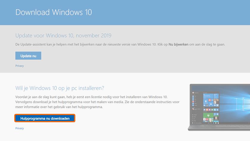 Installation propre de Windows