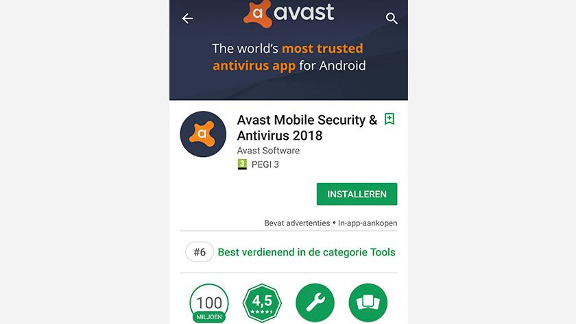 Appli Avast