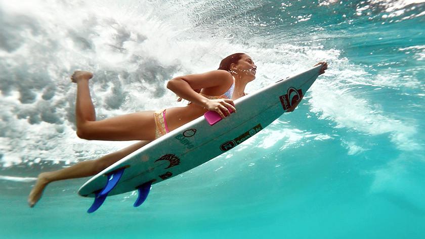Lifeproof sous l'eau