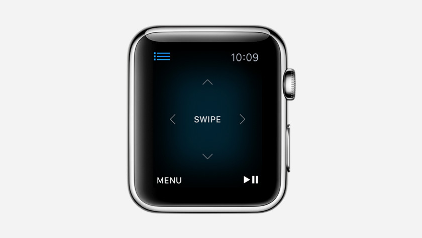 Apple Watch als afstandsbediening