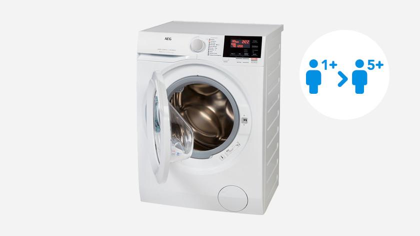 Load capacity AEG washing machine 6000 series