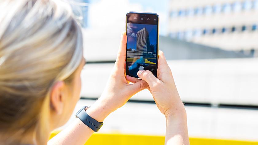 iPhone camera raster