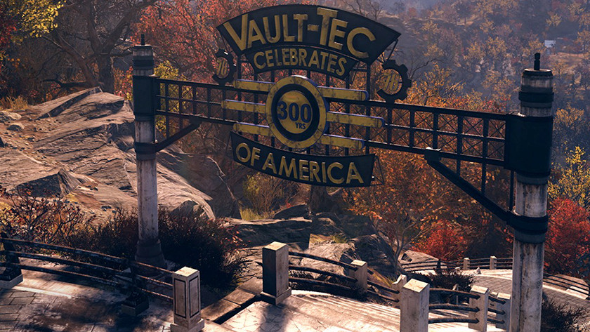 Fallout is set in West Virginia