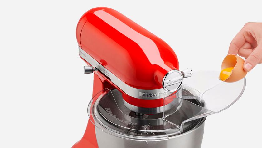 Antispatdeksel voor gebruiksvriendelijke keukenrobot