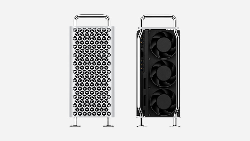 Apple Mac Pro with modular system