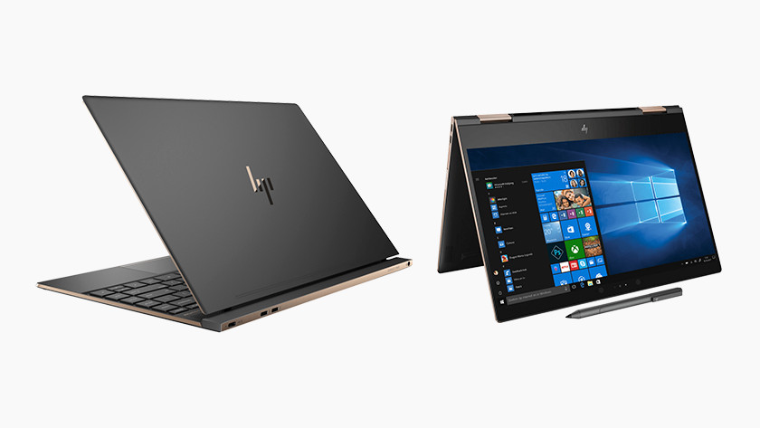 Ordinateur portable HP Spectre.