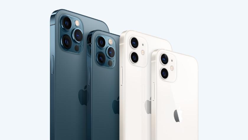 Line-up Apple iPhone