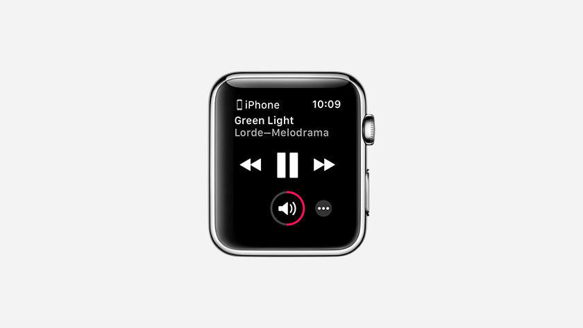 Listen to music with Apple Watch
