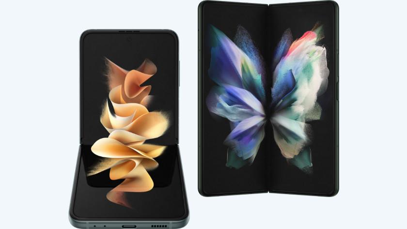 Vergelijk de Fold 3 met de Flip 3