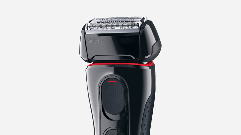 Electric shavers with a foil system
