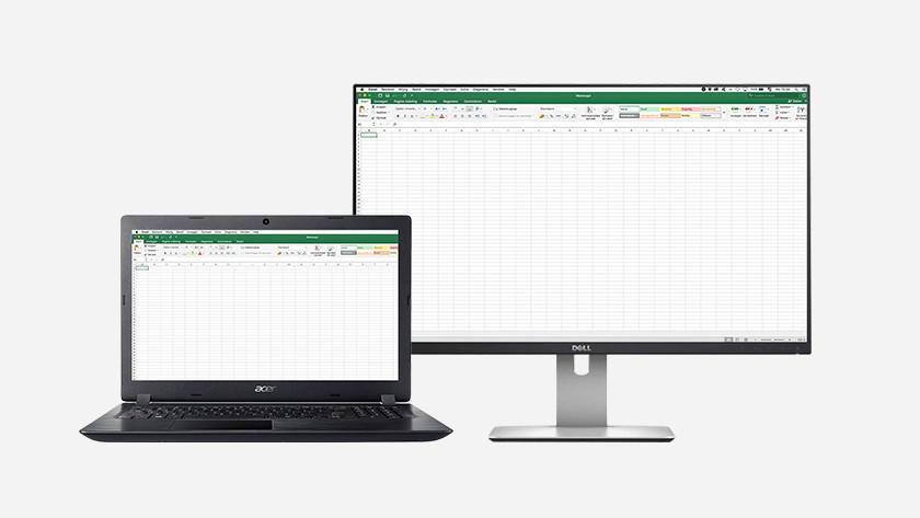 Monitor voor studie tweede scherm