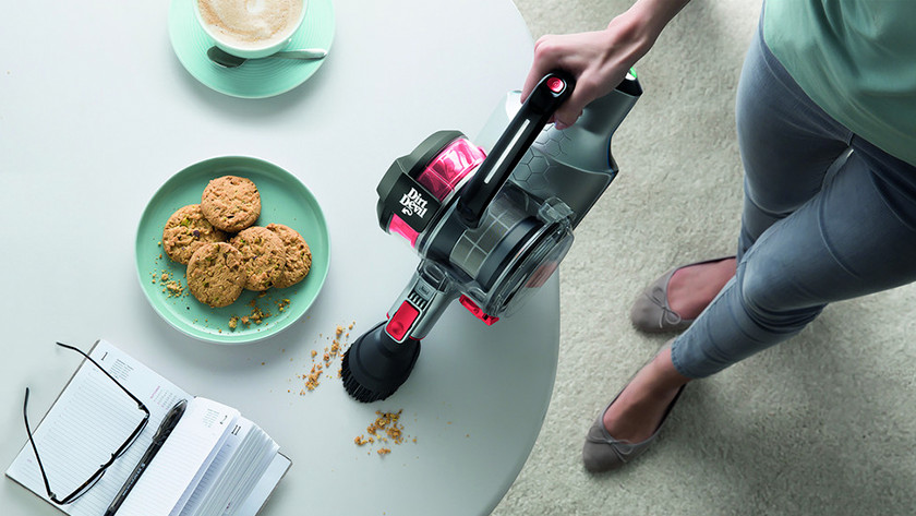Stick vacuum as an extra cleaner