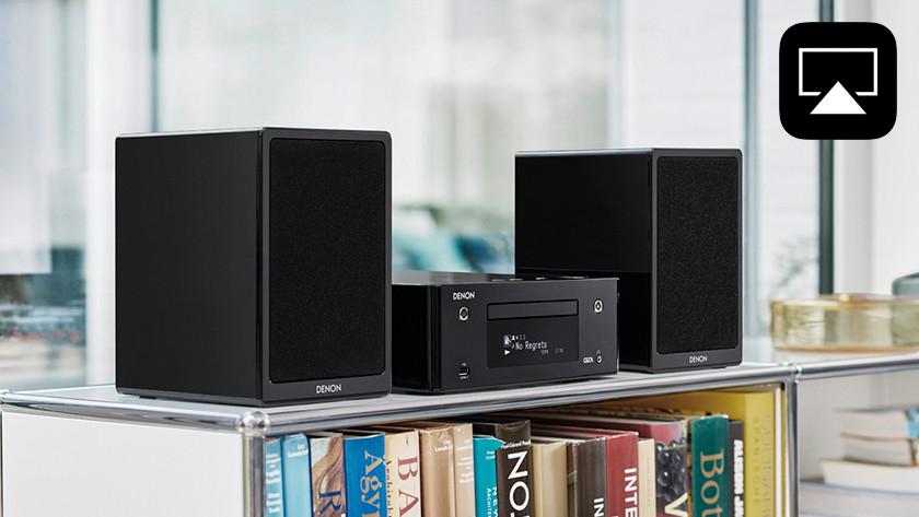 Mini audio system to stream music wirelessly