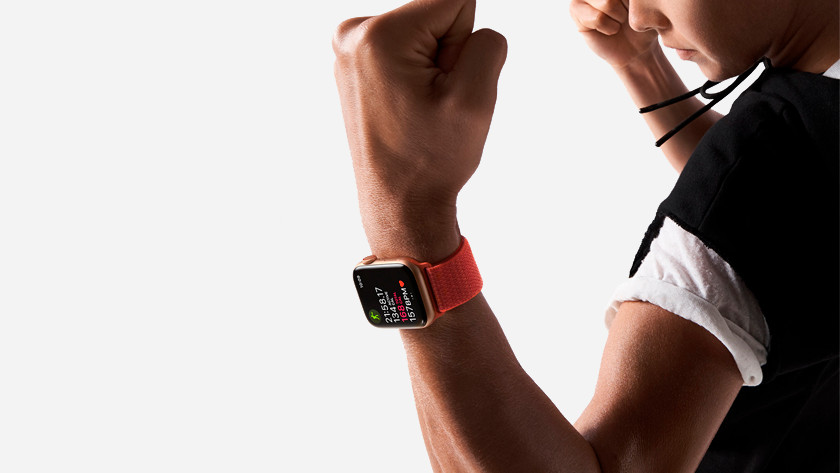 Apple Watch iPhone à la maison