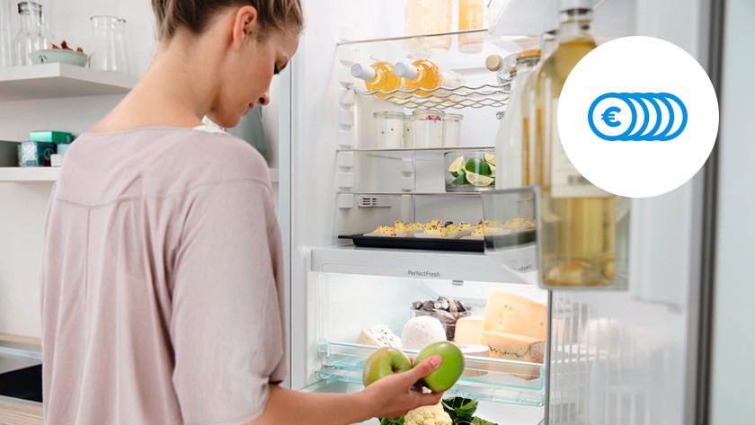 Économies A+++ réfrigérateur combiné